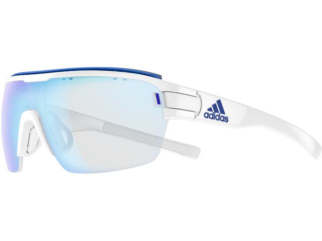 adidas Zonyk Aero Pro Glasses L, white shiny/blue
